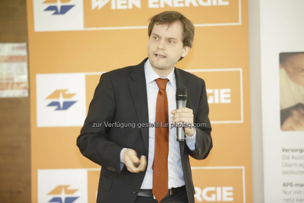 Simon Müller über systemfreundlichen Ausbau der erneuerbaren Energie: 20. IIR-Jahreskongress der Energiewirtschaft in Österreich:, © Aussendung (05.05.2015)