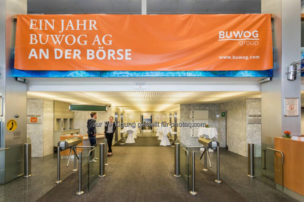 Buwog Privatanlegerroadshow, Ein Jahr Buwog AG an der Börse, © Buwog (06.05.2015)