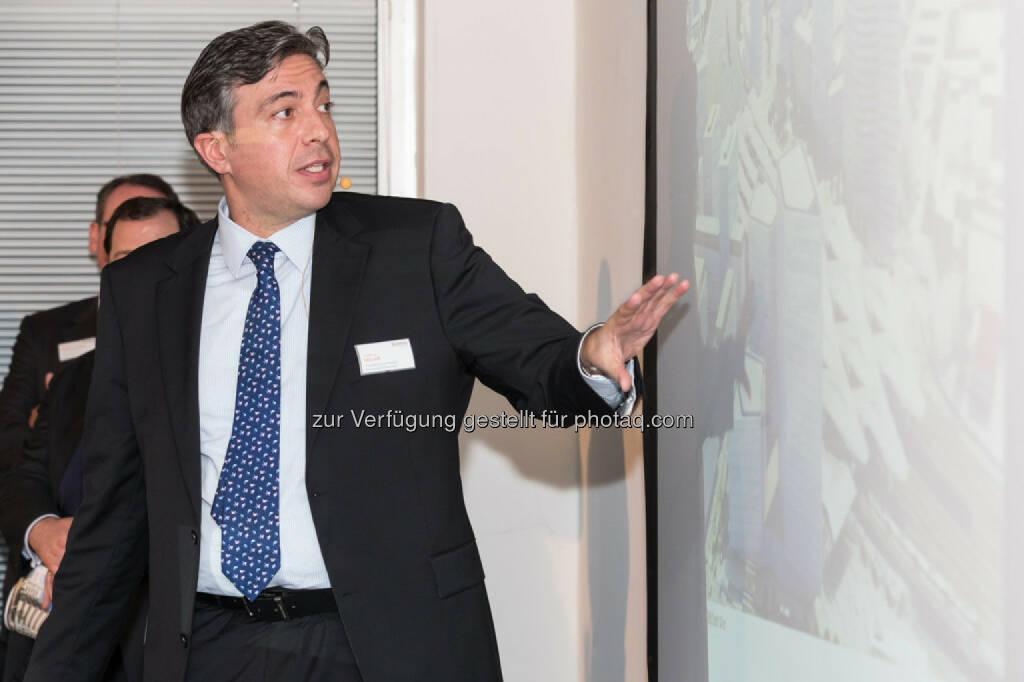 Andreas Holler (Geschäftsführer Property Development Österreich Buwog), © Buwog (06.05.2015)