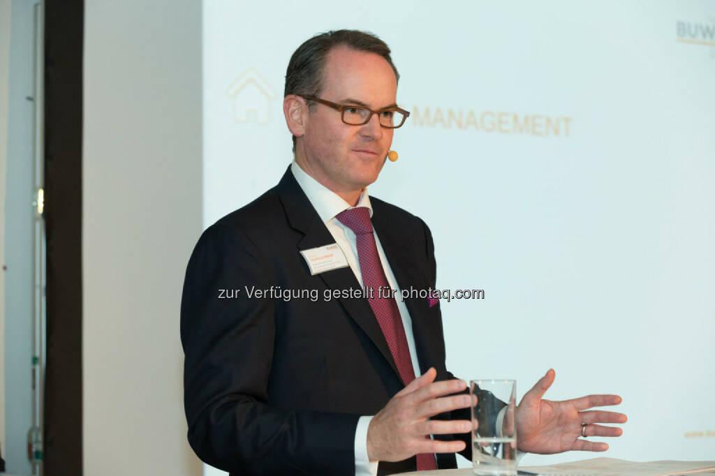 Herwig Teufelsdorfer (Geschäftsführer Asset Management & Property Sales Buwog), © Buwog (06.05.2015)