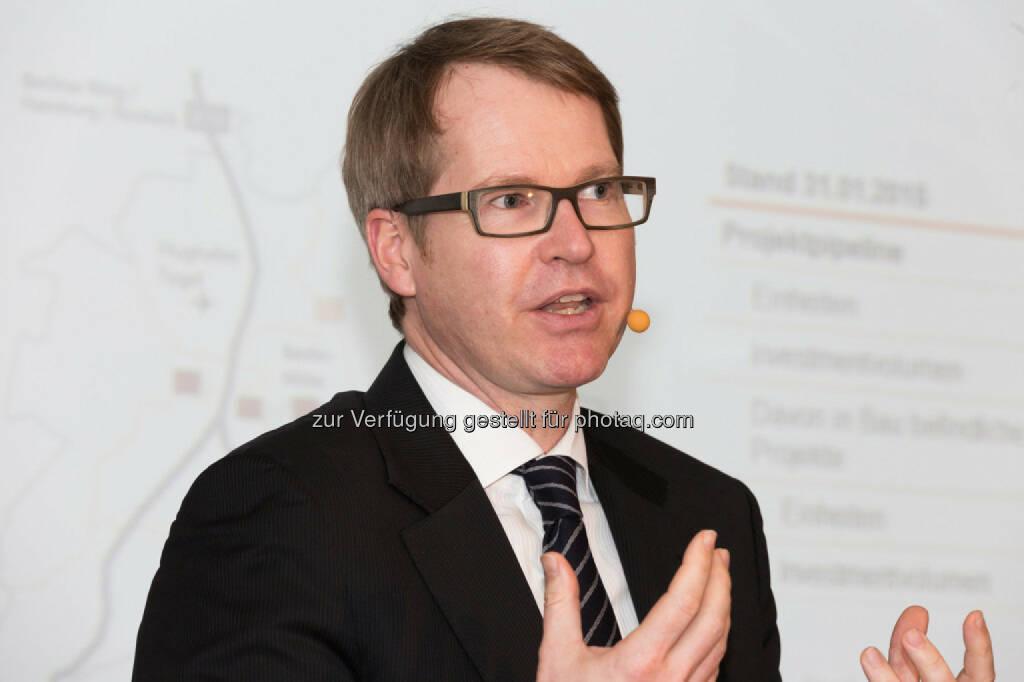 Alexander Happ (Geschäftsführer Property Development Deutschland Buwog), © Buwog (06.05.2015)