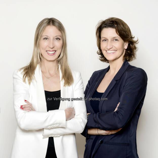 Maria Jelenko und Ursula Gastinger: neue Geschäftsführung für Heute.at, © Aussender (06.05.2015)