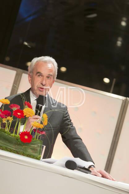 Rudolf Scholten (Aufsichtsratsvorsitzender Prisma Kreditversicherungs AG), © Martina Draper (25.02.2013)