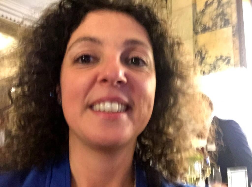 Selfie Stefania Tortorici, Deutsche Bank (07.05.2015)