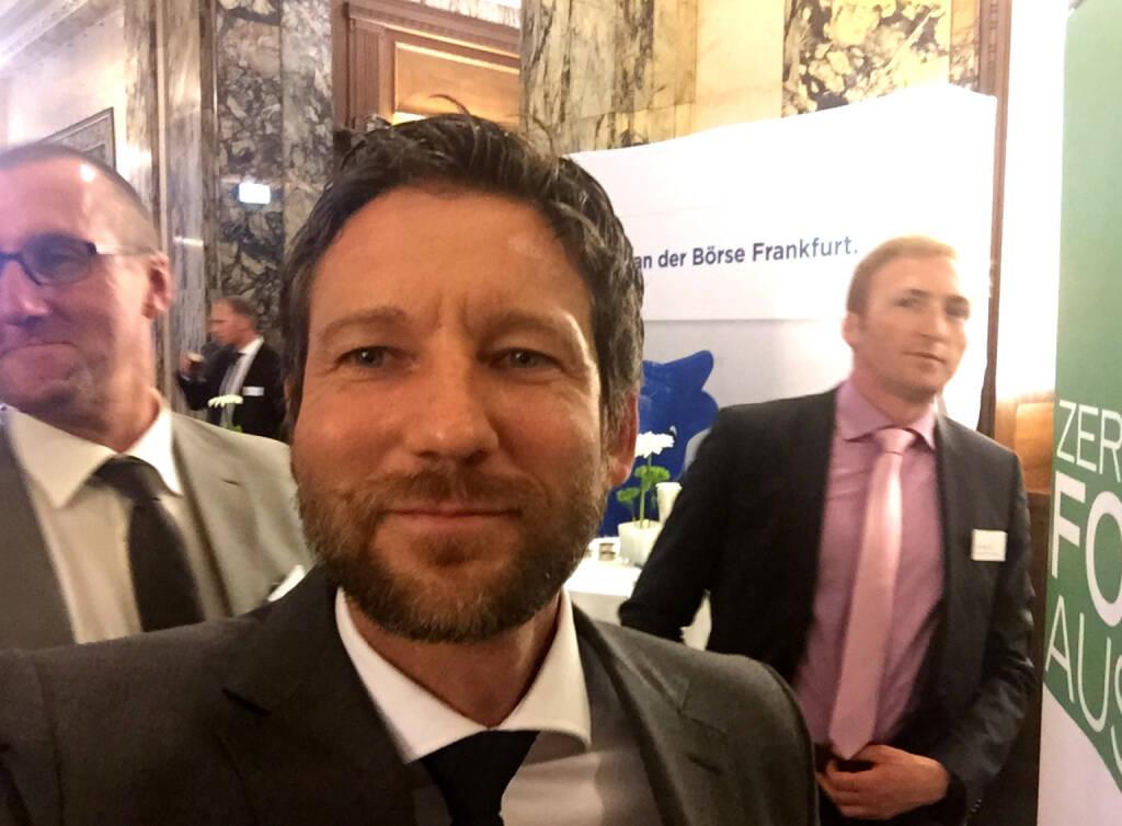 Selfie Thomas Schaufler, Erste Group (07.05.2015)