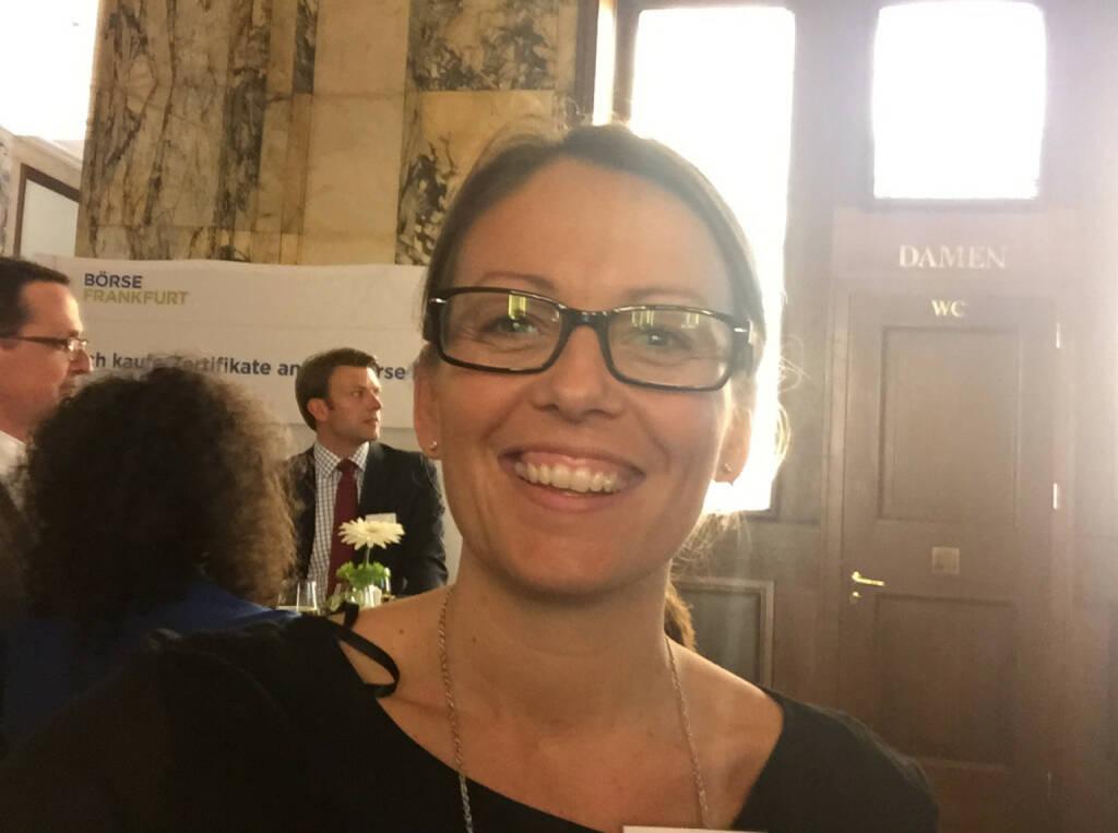 Selfie Beatrix Schlaffer, Brokerjet (07.05.2015)