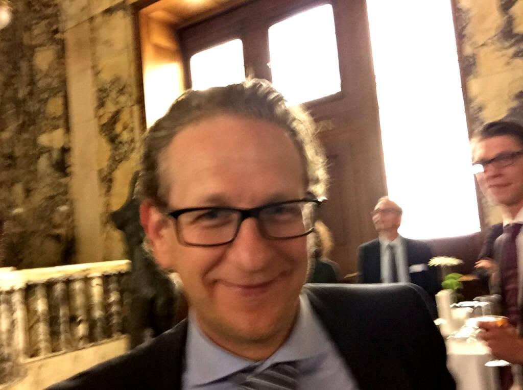 Selfie Markus Kaller, Erste Group (07.05.2015)