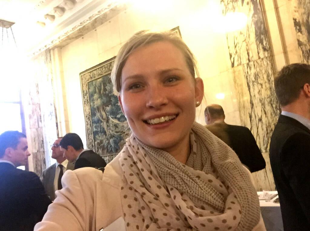 Selfie Anja Rhinow, Vbg. Landes- und Hypothekenbank (07.05.2015)