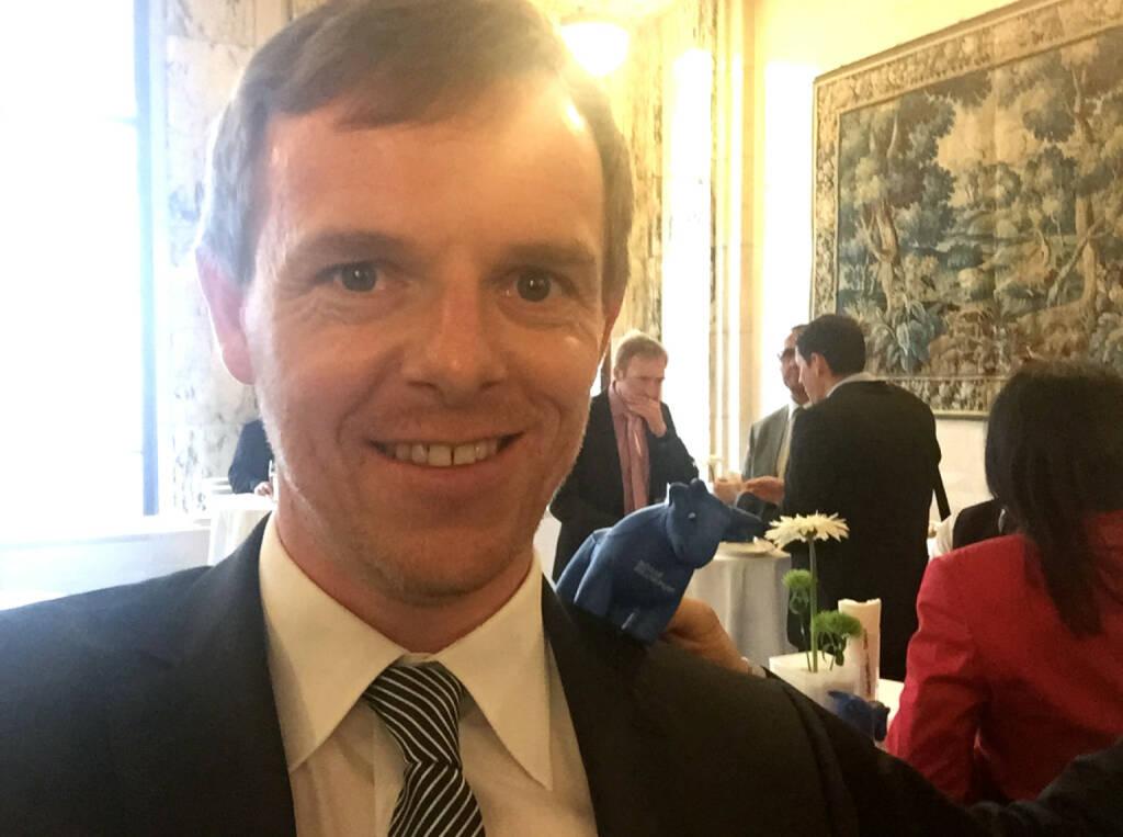 Selfie Christian-Hendrik Knappe, Deutsche Bank (07.05.2015)
