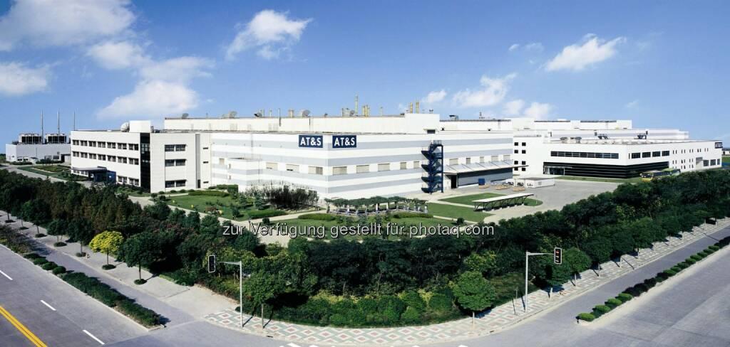 ATS, AT&S Shanghai, Fabrik, (Bild: AT&S http://www.ats.net/company/press/photos/ ), © Aussender (07.05.2015)