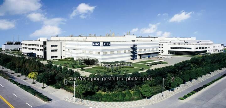 ATS, AT&S Shanghai, Fabrik, (Bild: AT&S http://www.ats.net/company/press/photos/ )