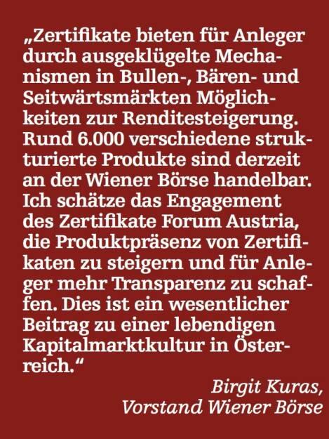 Birgit Kuras, Vorstand Wiener Börse (07.05.2015)
