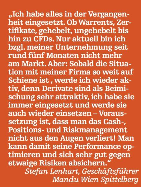 Stefan Lenhart, Geschäftsführer Mandu Wien Spittelberg (07.05.2015)