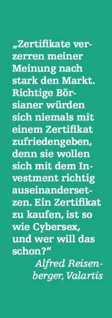 Alfred Reisenberger, Valartis (07.05.2015)