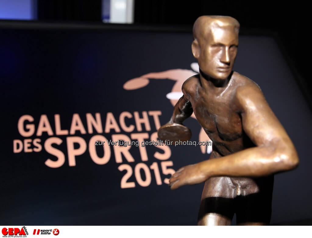 Galanacht des Sports, TrophyPhoto: GEPA pictures/ Hans Oberlaender, © Gepa (08.05.2015)