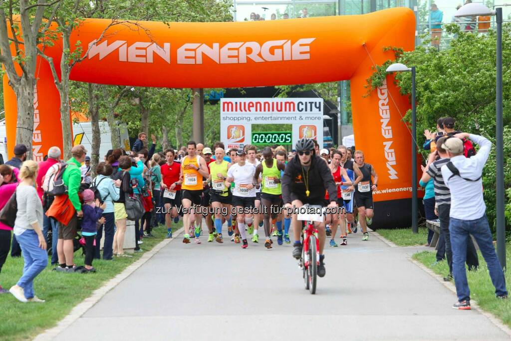 Millennium City Run 2015, Start, Wien Energie, Los, © leisure.at/Ludwig Schedl (10.05.2015)