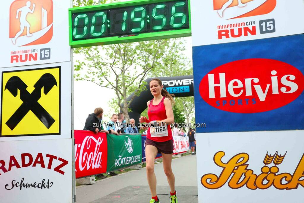 Diana Berisa-Klusoczki, 2. Platz Millennium City Run 2015 über die 5km Distanz