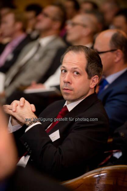 Ronald Nemec, Zertifikatekongress 2015, Oktogon der Bank Austria, © ViennaShots - professional photographers, Andreas Pecka (11.05.2015)