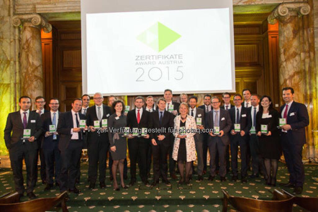 Zertifikate Award 2015 - Siegerbild, © ViennaShots - professional photographers, Andreas Pecka (11.05.2015)