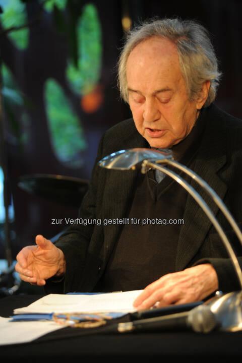 Otto Schenk liest im Glacis Beisl: Glacis Beisl: Glacis Beisl im MuseumsQuartier feiert 10-Jahre-Jubiläum