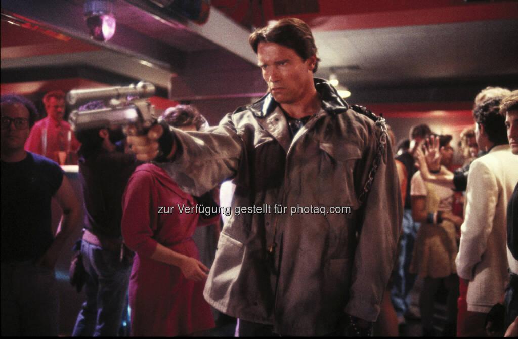 """Cineplexx Kinobetriebe GmbH: Der """"Terminator"""" ist zurück: Cineplexx zeigt den Kultstreifen der 1980er Jahre im Kino, © Aussendung (13.05.2015)"""