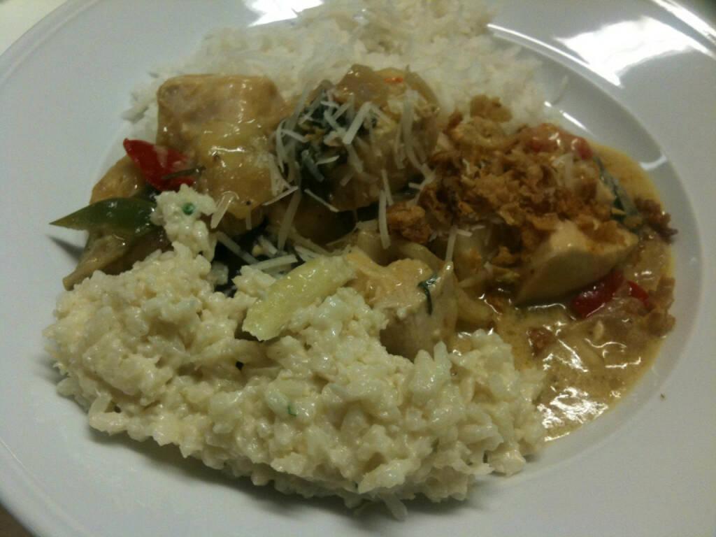 Erste-HV: Hauptspeise Thai-Chicken-Curry, Mai 2015 (14.05.2015)