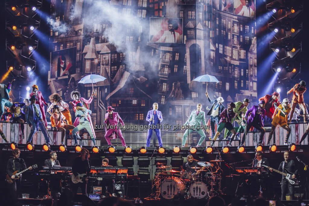 Cineplexx Kinobetriebe GmbH: Take That live im Kino – Cineplexx überträgt das Konzert-Highlight aus London, © Aussender (14.05.2015)