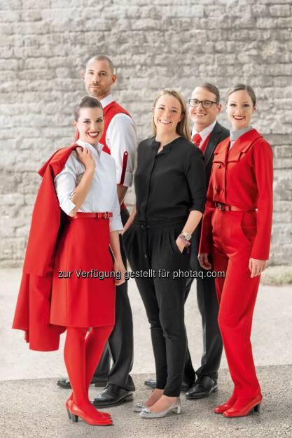 Österreichische Designerin Marina Hoermanseder entwirft neue Austrian Uniform, © Aussender (18.05.2015)
