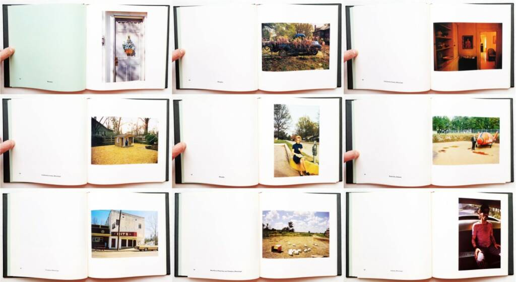 William Eggleston - William Eggleston's Guide, The Museum of Modern Art & The MIT Press 1976, Beispielseiten, sample spreads - http://josefchladek.com/book/william_eggleston_-_william_egglestons_guide, © (c) josefchladek.com (20.05.2015)