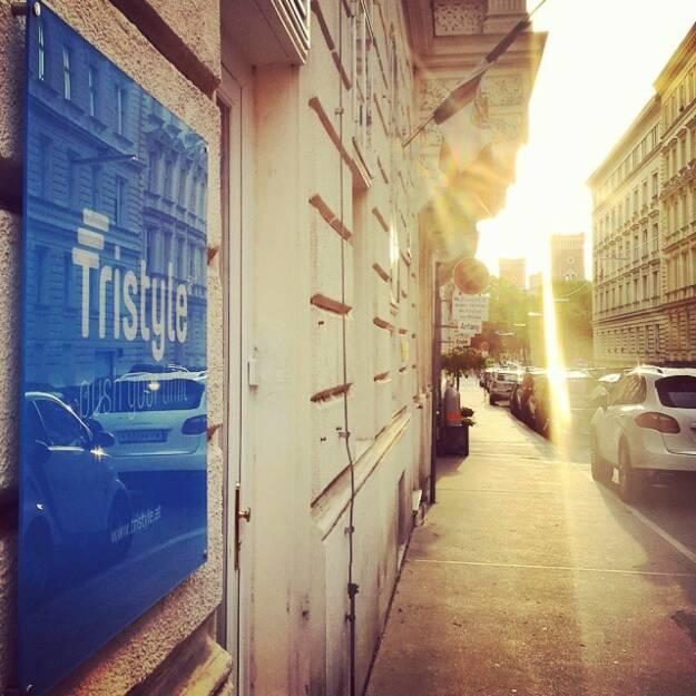 Tristyle Office in 1090 Wien Liechtensteinstrasse / Türkenstrasse (21.05.2015)