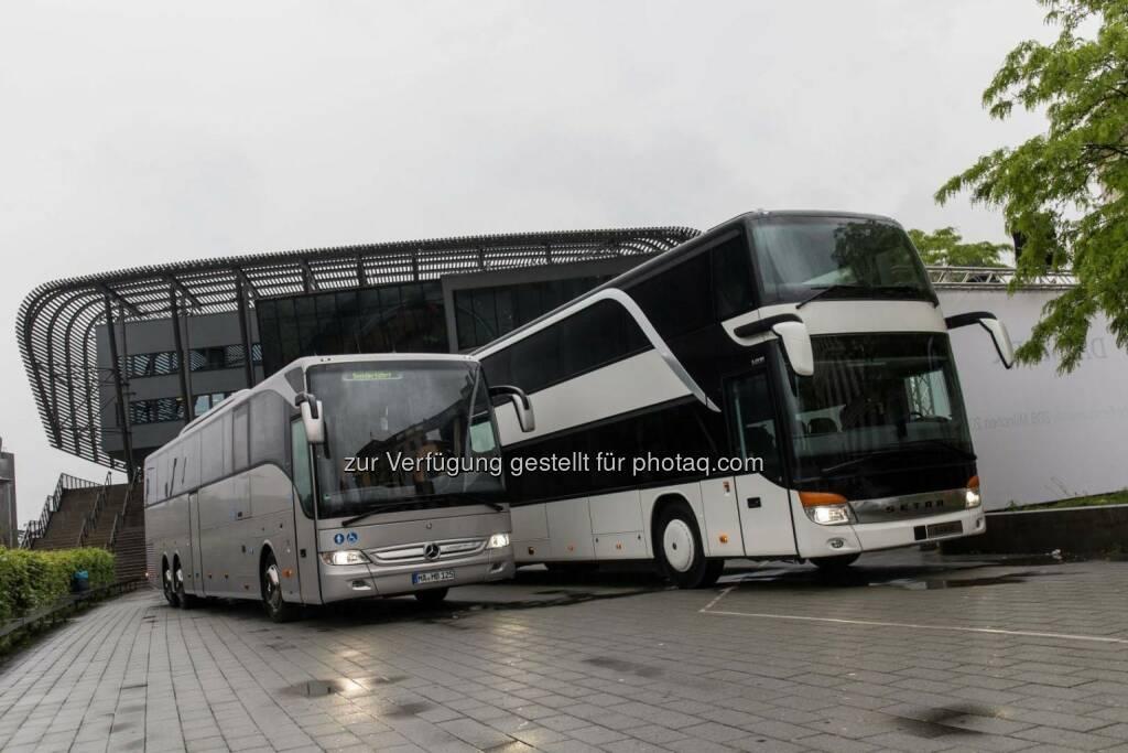 Daimler Buses profitiert vom Fernlinien-Boom - Jeder zweite Fernlinien-Bus ein Mercedes-Benz oder Setra, © Aussendung (21.05.2015)