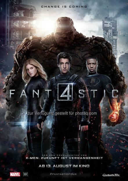 Constantin Film: Fantastic Four - Erste Fotos der Kult-Comic-Verfilmung online, © Aussendung (21.05.2015)