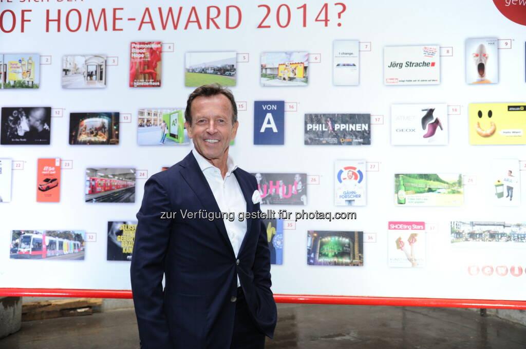 Gewista CEO KR Karl Javurek: Gewista Werbeges.m.b.H.: Gewista feierte 32. Plakatparty im Wiener Rathaus, © Aussender (21.05.2015)