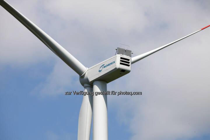 Nordex N117/3000 Delta (3,0 MW) Windenergieanlage (Bild: Nordex SE http://www.nordex-online.com/popuppic.php/news-presse/pressebilder.html )