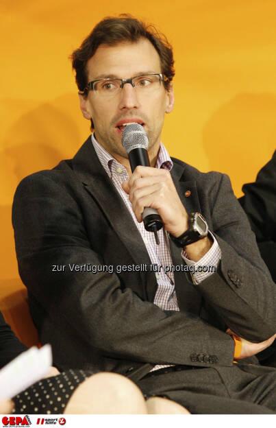 Rainer Roesslhuber (Generalsekretaer der Sportunion Oesterreich). Foto: GEPA pictures/ Mathias Mandl, © GEPA/Sporthilfe (28.02.2013)
