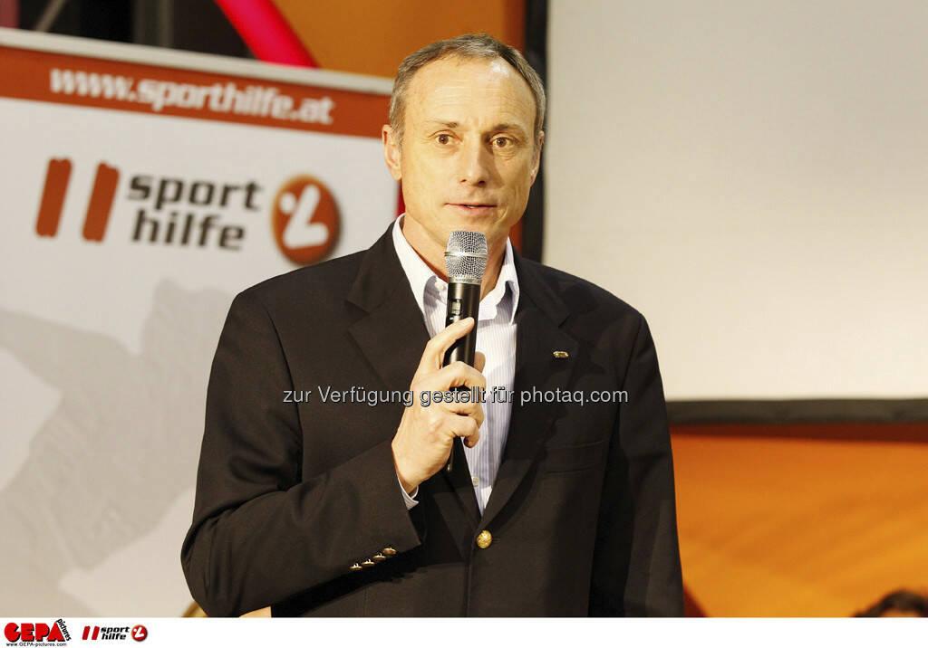 Anton Schutti (Geschaeftsfuehrer Sporthilfe). Foto: GEPA pictures/ Mathias Mandl, © GEPA/Sporthilfe (28.02.2013)