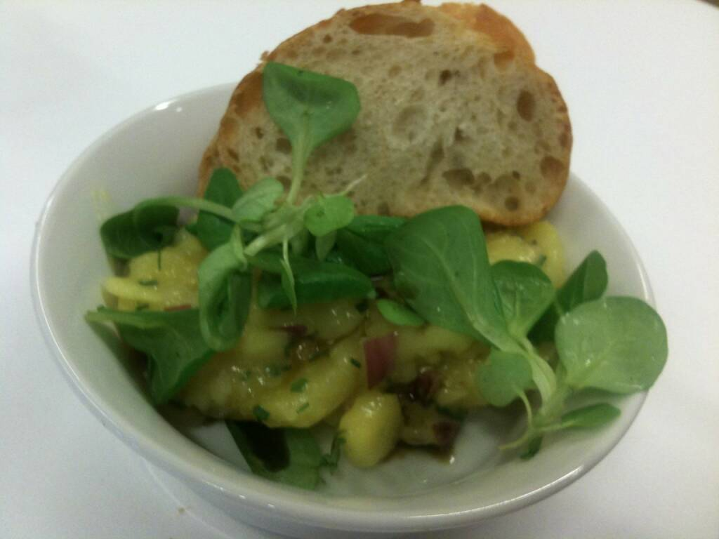 Wienerberger-HV: Vorspeise, Erdäpfelsalat, Kartoffelsalat (22.05.2015)