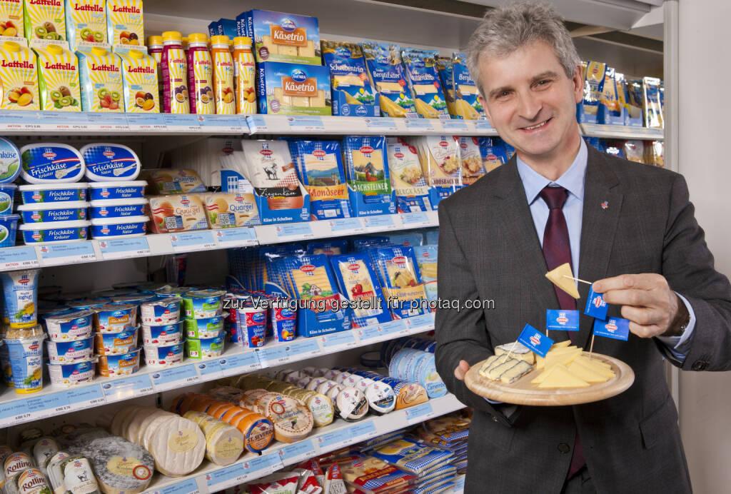 Josef Braunshofer, Generaldirektor der Berglandmilch: Feiern Sie den Weltmilchtag mit Berglandmilch Milchbäuerinnen und Milchbauern, © Aussender (26.05.2015)