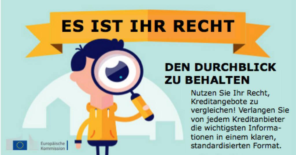 Recht, den Durchblick zu behalten, © Europäische Kommission (28.05.2015)
