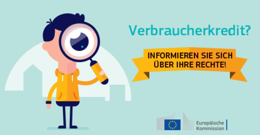 Verbraucherkredit - Informieren Sie sich über Ihre Rechte, © Europäische Kommission (28.05.2015)