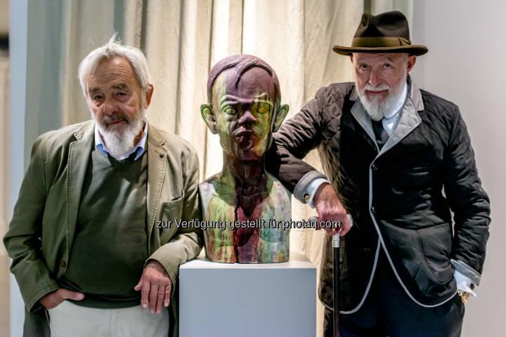 Markus Lüpertz, Arnulf Rainer bildende Kuns:  Eröffnung heute im Arnulf Rainer Museum