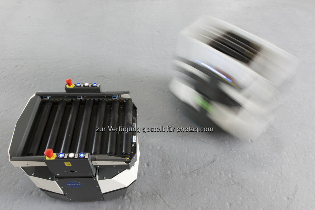 incubed IT: hier: Container Shuttle - Smart Shuttles der incubed IT - Die Zukunft der Intralogistik, © Aussendung (28.05.2015)