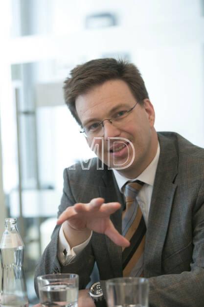 Martin Theyer (Director Strategy & IR/PR AT&S) , © Martina Draper für BE (01.03.2013)