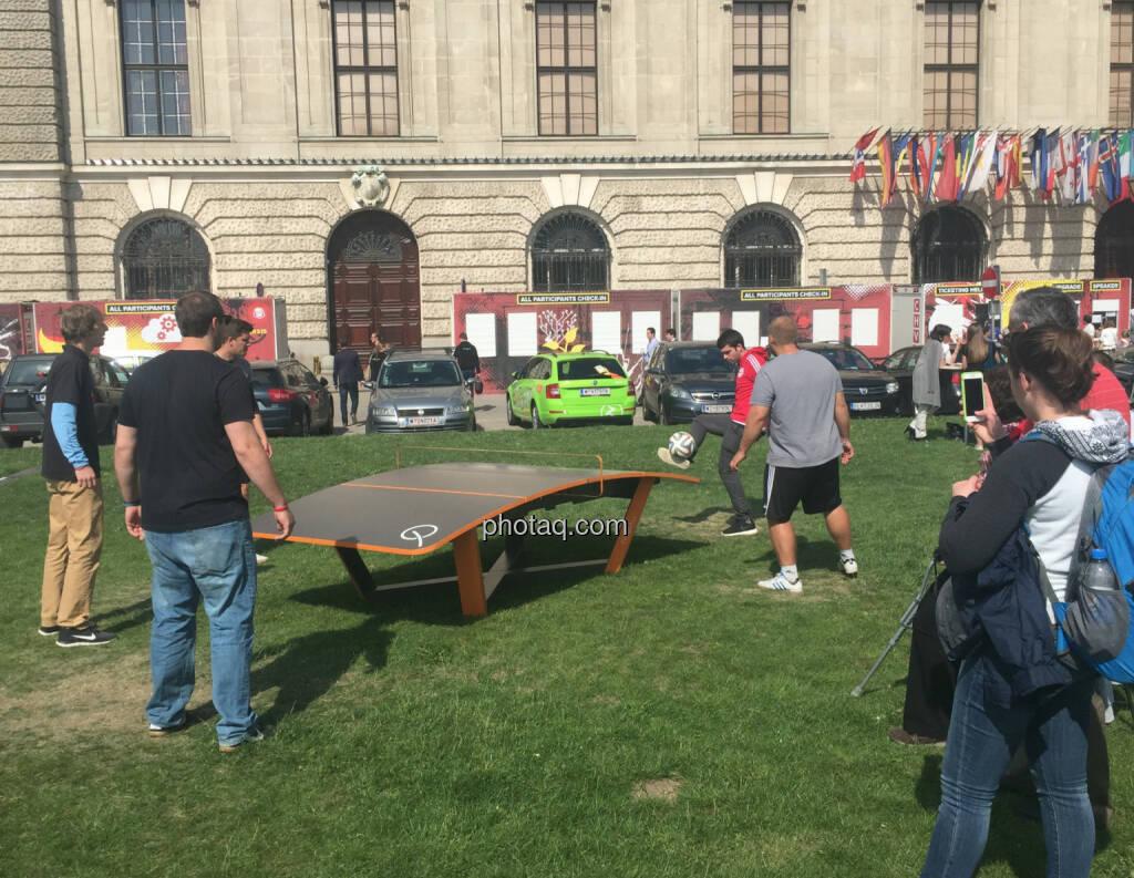 Fussball Hofburg (28.05.2015)