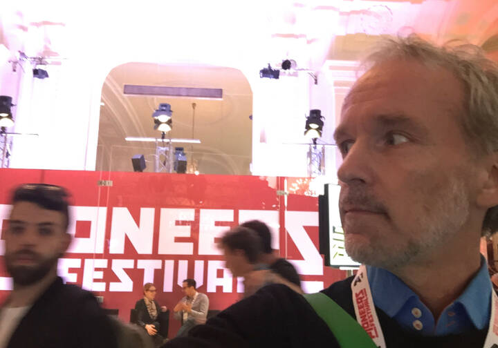 Pioneers Festival Hofburg Christian Drastil