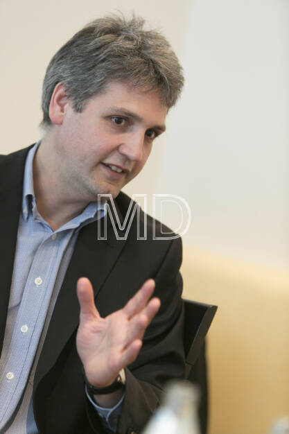 Michael Trcka (CFO WEB WIndenergie), © Martina Draper für BE (01.03.2013)