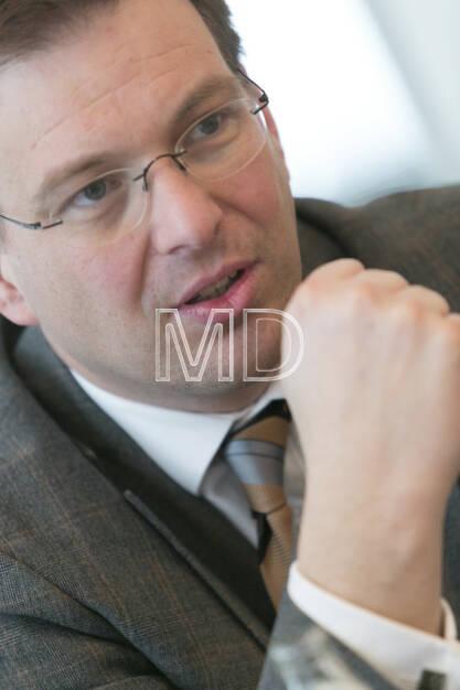 Martin Theyer (Director Strategy & IR/PR AT&S), © Martina Draper für BE (01.03.2013)