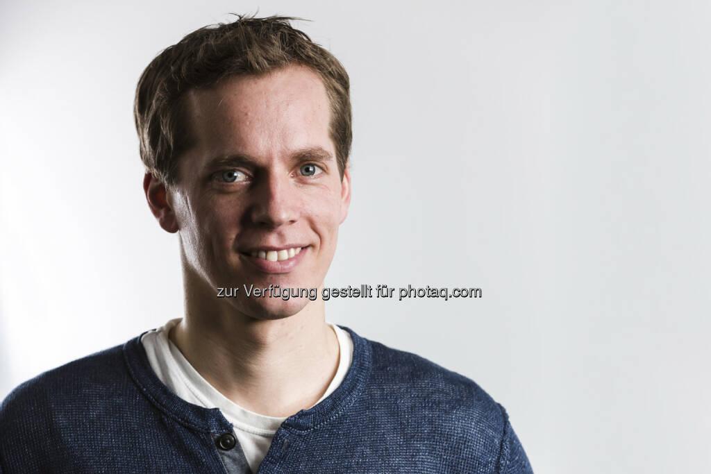 Martin Pansy (Noki) - Grazer Start-up Noki entwickelt intelligentes Türschloss der Zukunft (Bild: Stefan Warmuth - http://rawpix.at ) (29.05.2015)