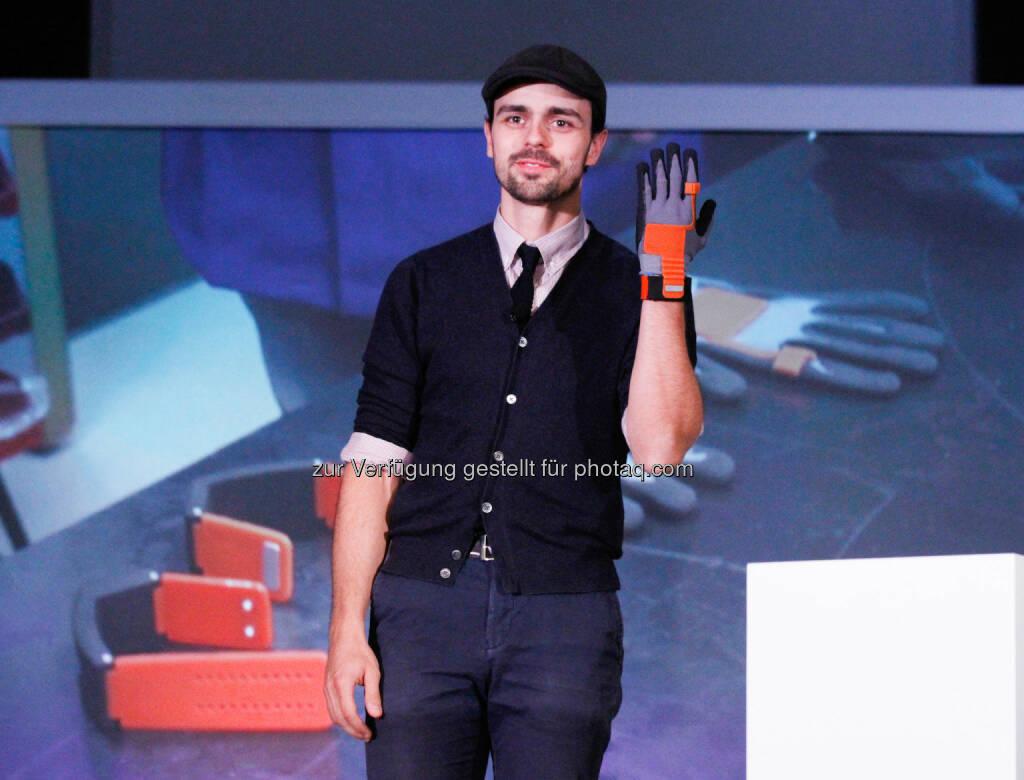 Thomas Kirchner (ProGlove) - ProGlove unter den Top 16 der besten Start-Ups auf dem Pioneers Festival (Bild: ProGlove) (29.05.2015)