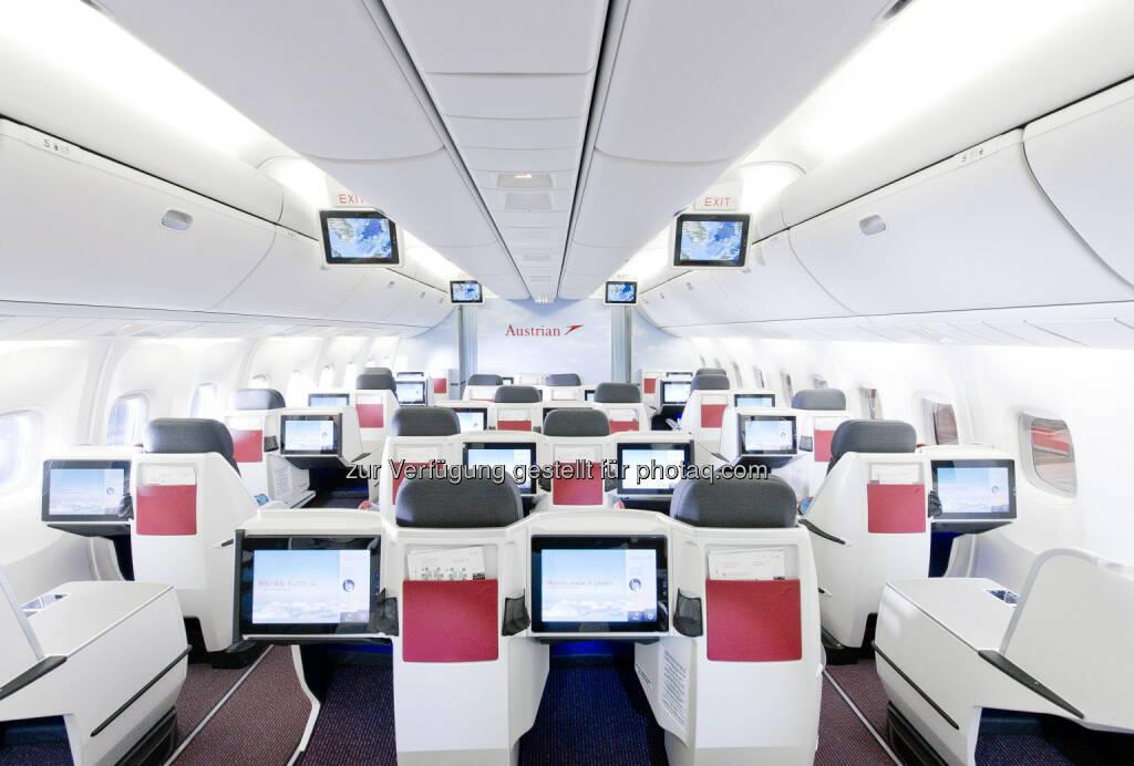 AUA: Zweite Boeing 777 mit neuer, moderner Langstrecken-Kabine hat am 28.2. zum Erstflug von Wien nach Bangkok abgehoben (03.03.2013)